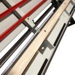 Appoggio legno pannelli su Sezionatrice DPM