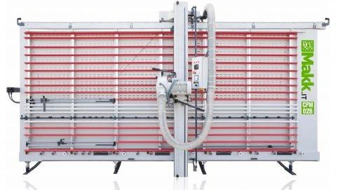 Vertical Panel Saw V-Grooving MAKK Mod.CPM-D2B - Composite Panels (Alucobond)