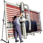 Sezionatrice verticale Alucobond MAKK Mod.CPM-D2B
