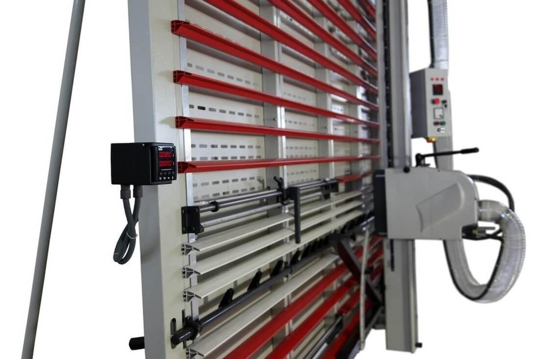 Visualizador digital para cortes verticales y horizontales
