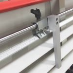 Battuta con riga millimetrica per misure taglio e fresatura pannelli