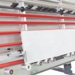 Supports inferieurs appui panneaux avec roues en metal