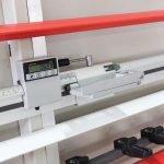 Visualizzatori digitali misure sezionatrice verticale MAKK