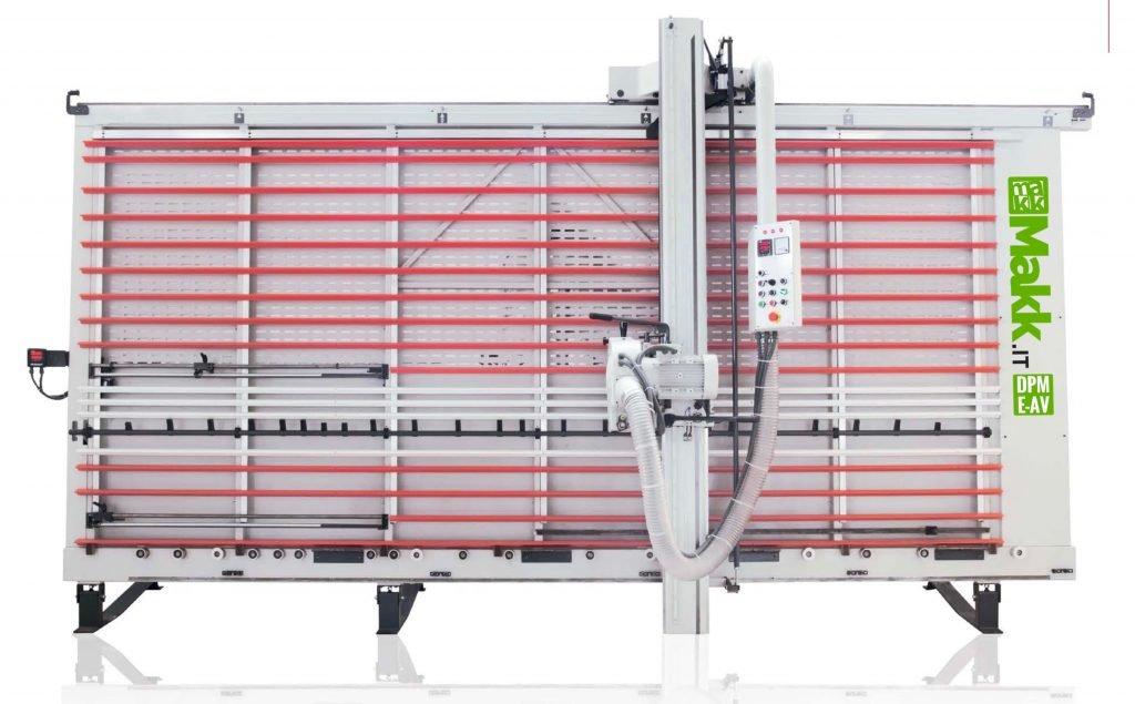 Scie à Panneaux Verticale Automatique MAKK DPME-AV
