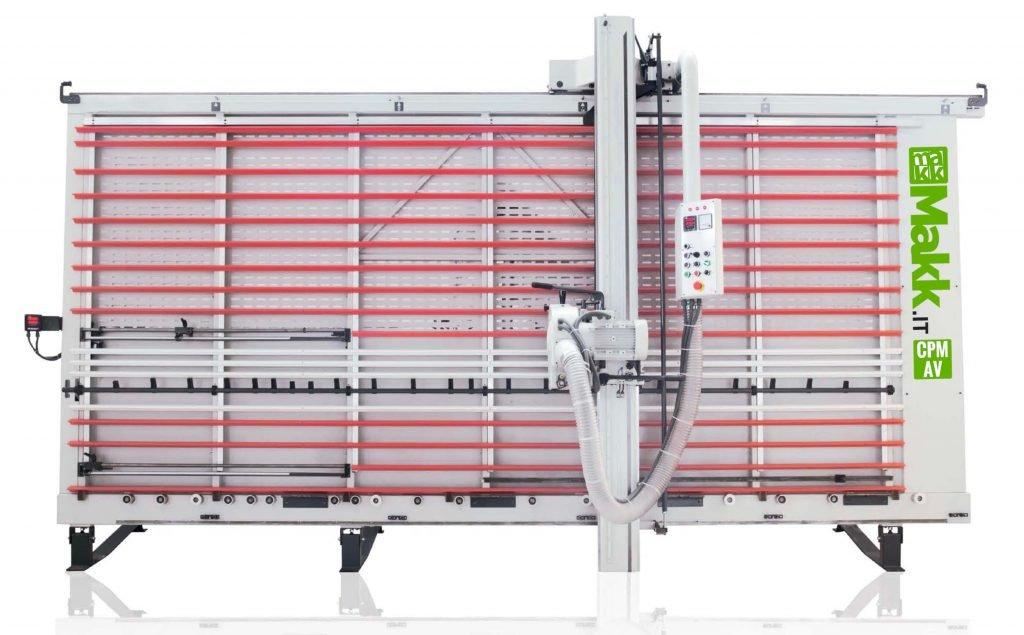 Scie à Panneaux Verticale Automatique MAKK Mod.CPM-AV - Alucobond