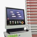 PC programmazione lavorazione Sezionatrice Verticale Automatica MAKK Mod.DPM-AV