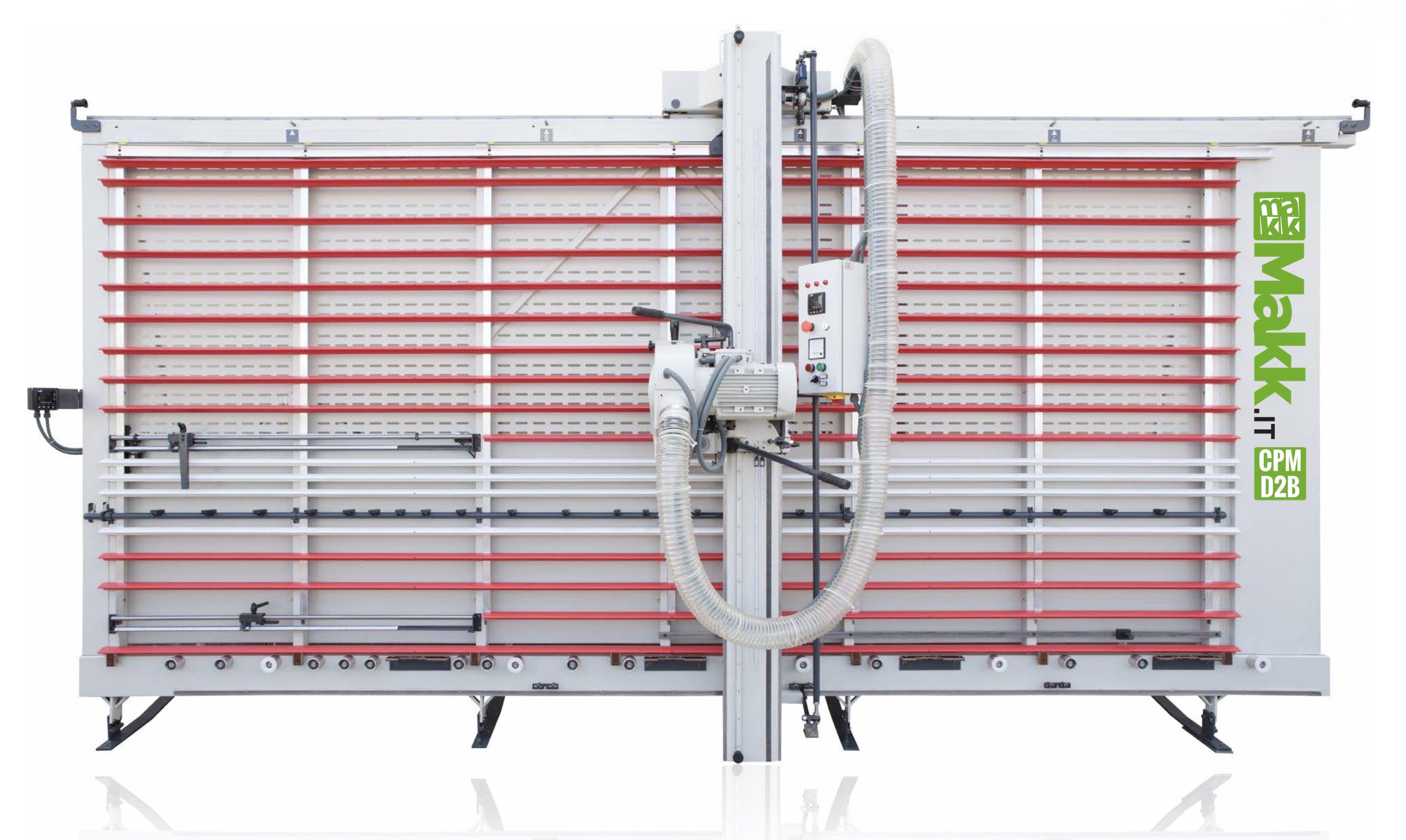 Sezionatrice verticale ALucobond MAKK CPM-D2B