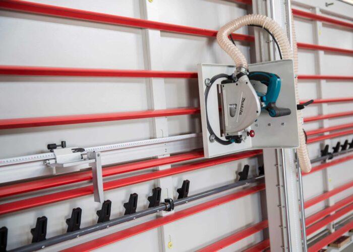 Sezionatrice Verticale MAKK EasyCut Gruppo taglio pannelli verticale