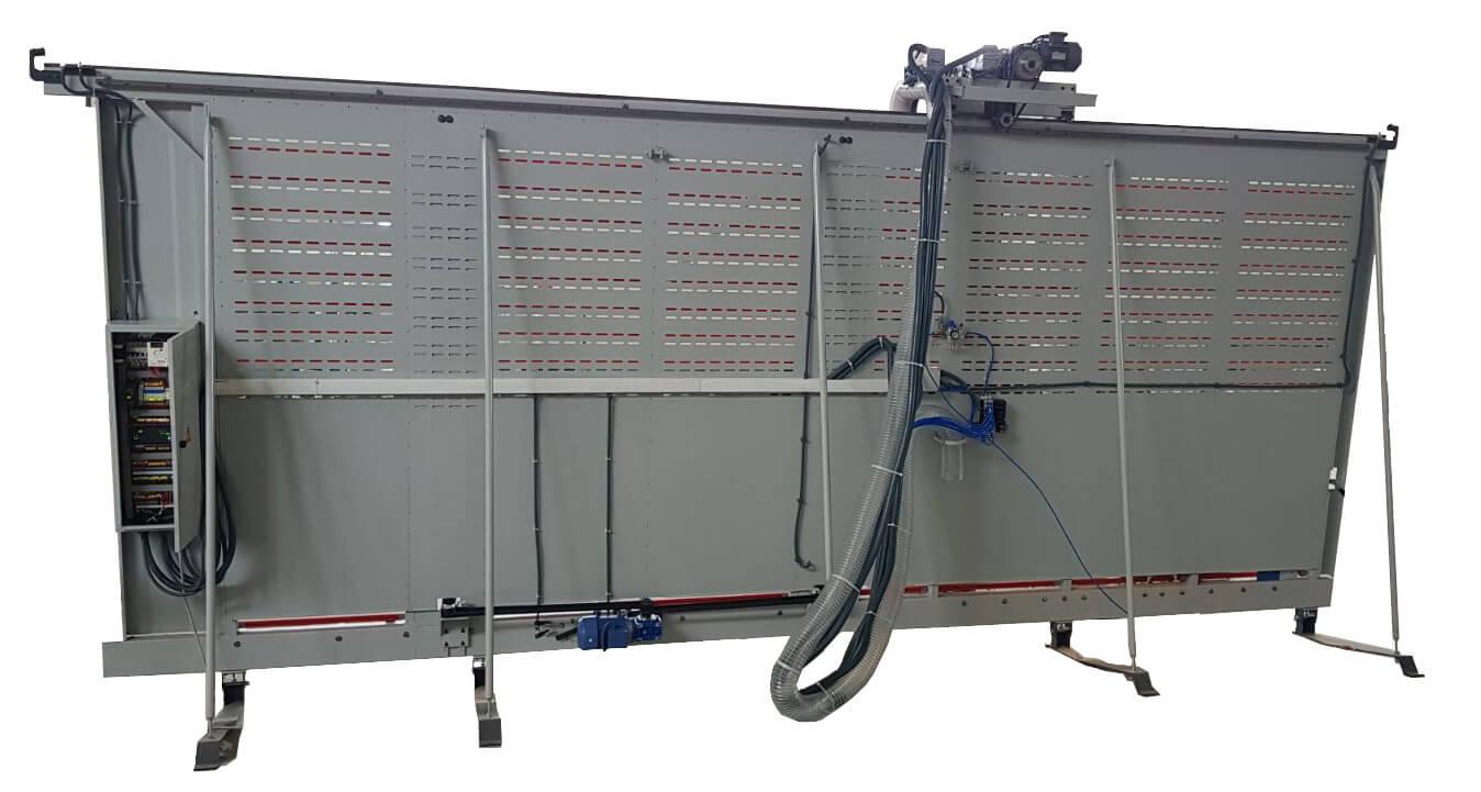 Retro Sezionatrice Verticale Automatica MAKK DPM-KS-AV