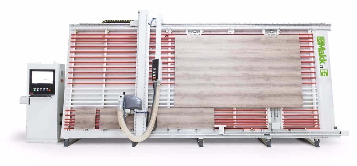 Vertical Panel Saw Automatic MAKK DPM-AV