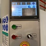 Control Panel with PLC and Touch-Screen , Vertical Panel Saw MAKK DPM-KS-AV