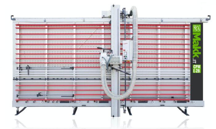 Vertical panel saw V-Grooving Alucobond MAKK CPME-2B