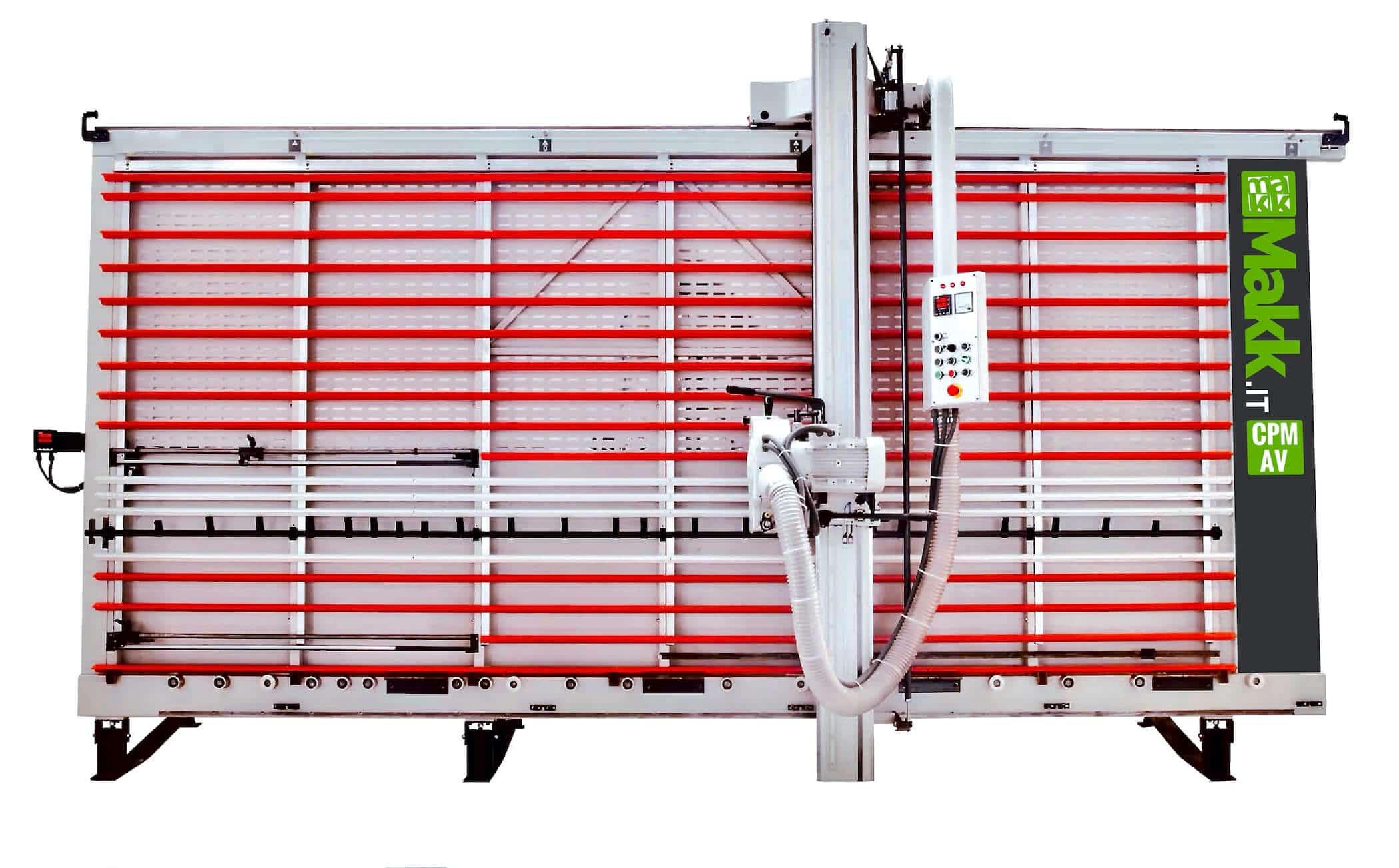 Automatic vertical panel saw V-Grooving Alucobond MAKK CPM-AV