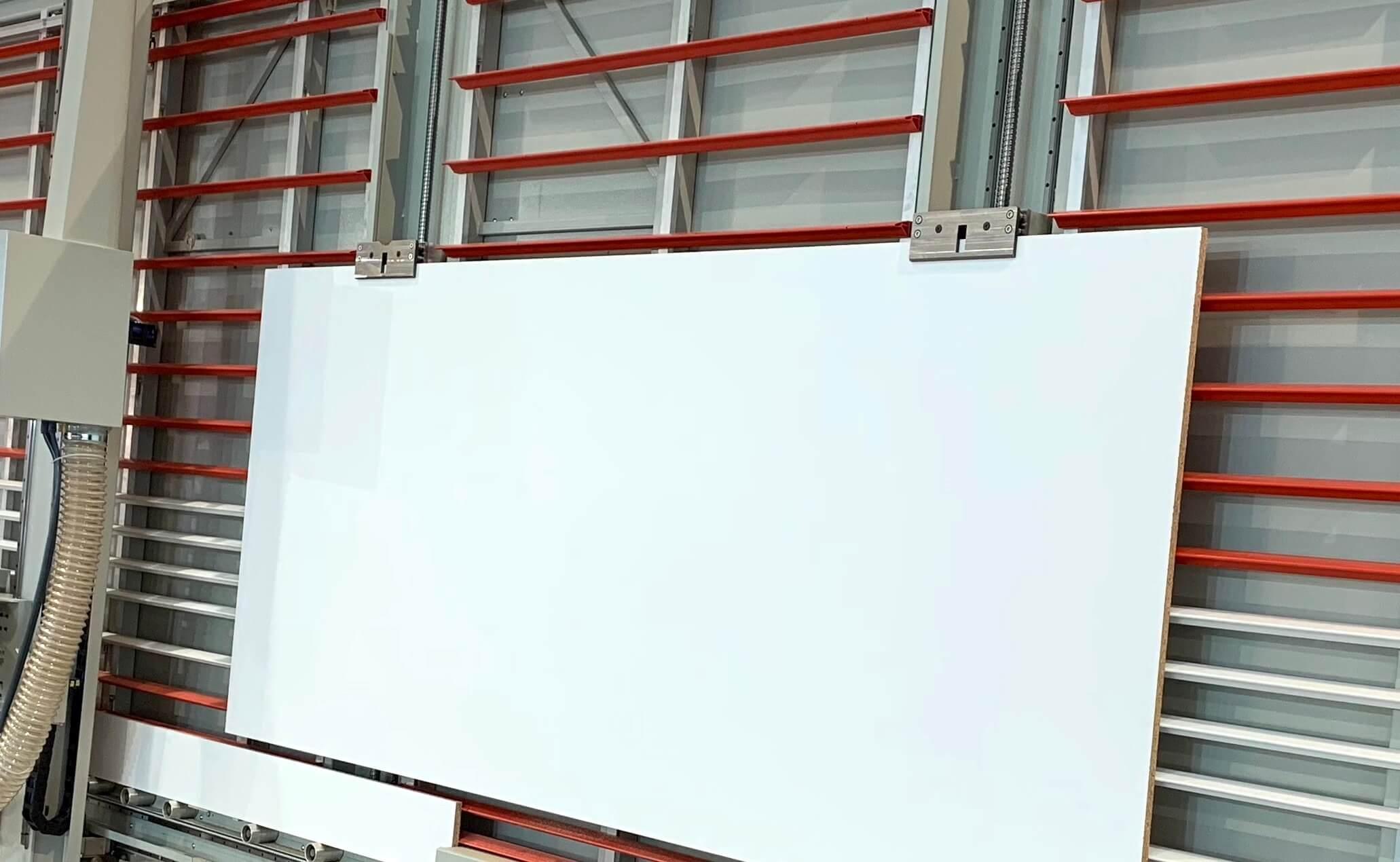 sistema sollevamento pannelli con pinze DPM-AV