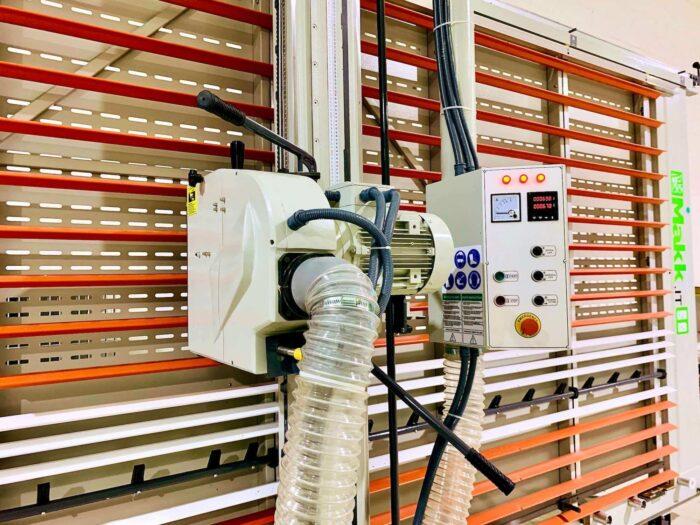 Pannello comandi sezionatrice verticale Makk CPM-D2B  per Alucobond