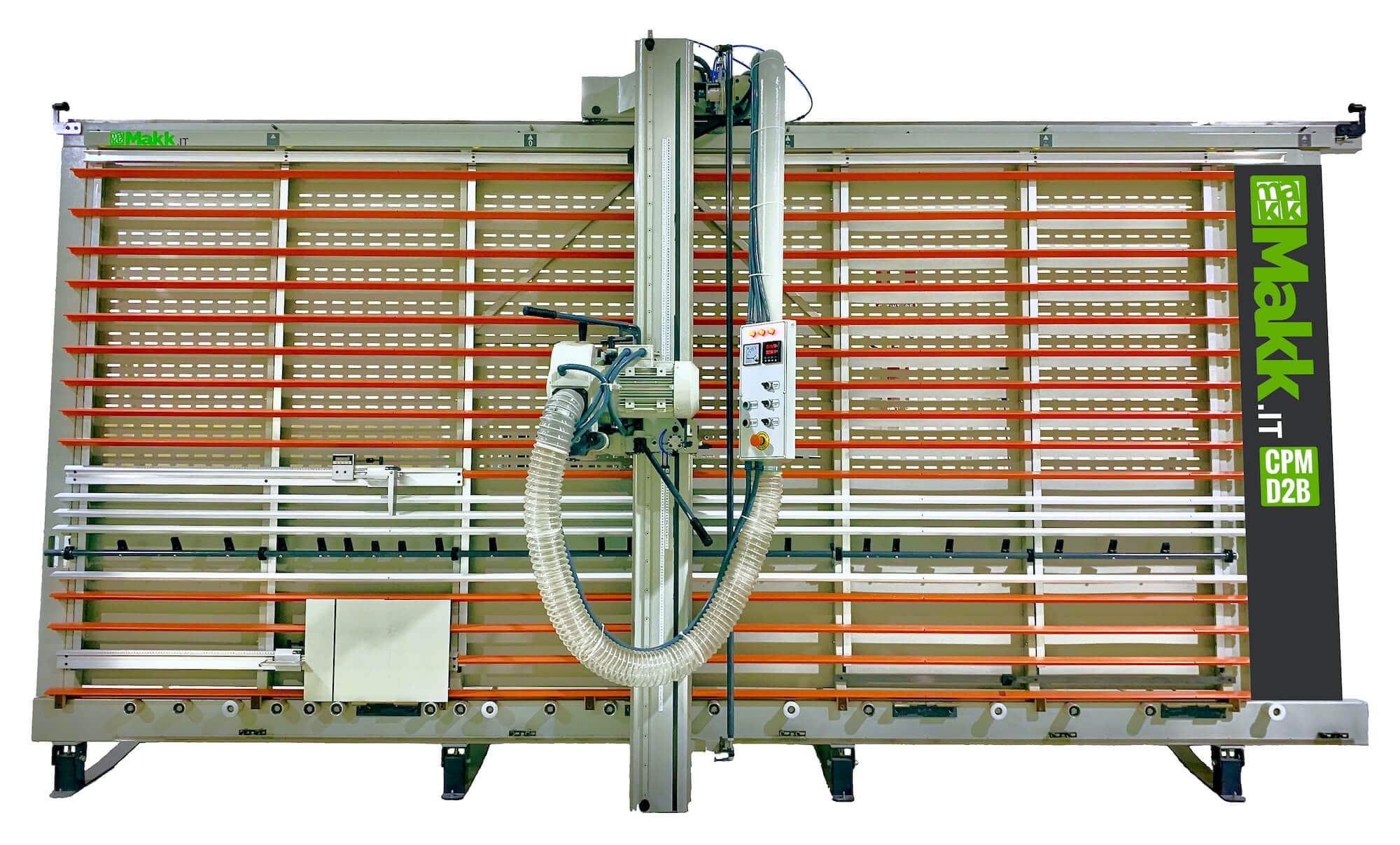 vertical panel saw Makk V-Grooving alucobond CPM-D2B