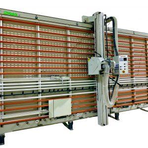 sezionatrice verticale Makk alucobond CPM-D2B 2 2
