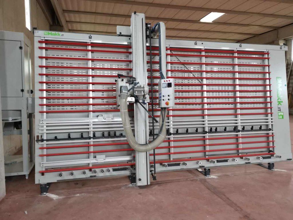 sezionatrice verticale DPME-D MAKK a ditta Petrozzi, Rieti 2