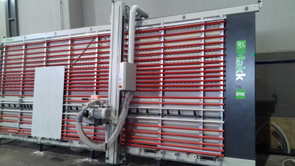 sezionatrice verticale DPME MAKK 2
