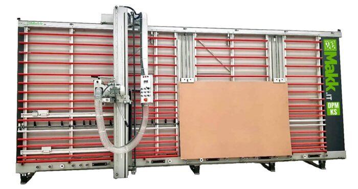 Vertical panel saw MAKK DPM-KS + lifting panels system