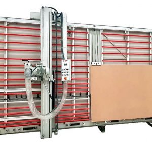 Scie à panneaux verticale MAKK DPM-KS + système levage panneaux