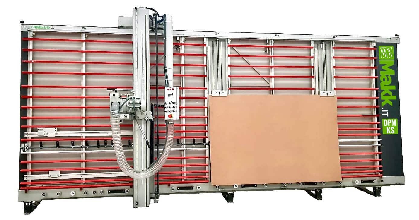 Sezionatrice Verticale MAKK DPM-KS + sistema sollevamento pannelli